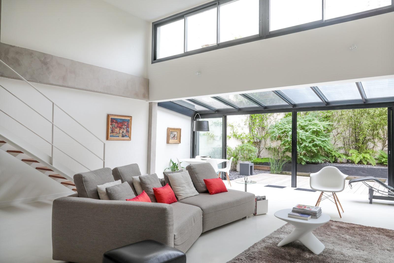 Vente tr s bel appartement contemporain r nov ouvrant sur son jardin japonais - Jardin paysager prix bordeaux ...